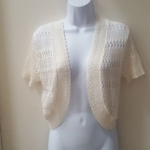 Adorable Lennie Crochet SS Cardigan